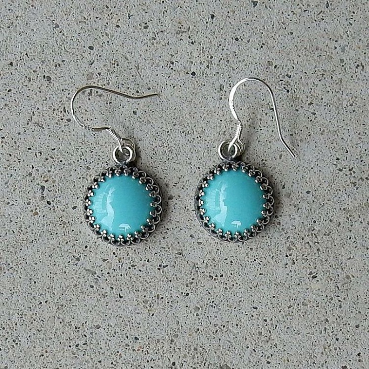 classic enamel earrings