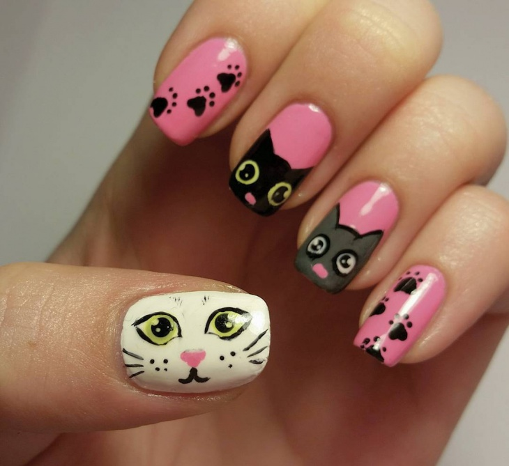 18 Paw Nail Art Designs Ideas Design Trends Premium Psd Vector Downloads