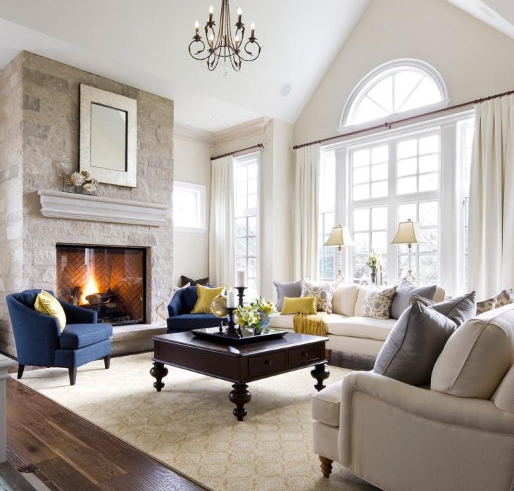 Masculine Formal Living Room