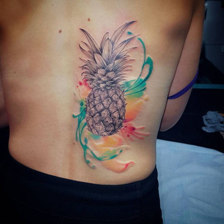21 pineapple tattoo designs ideas design trends