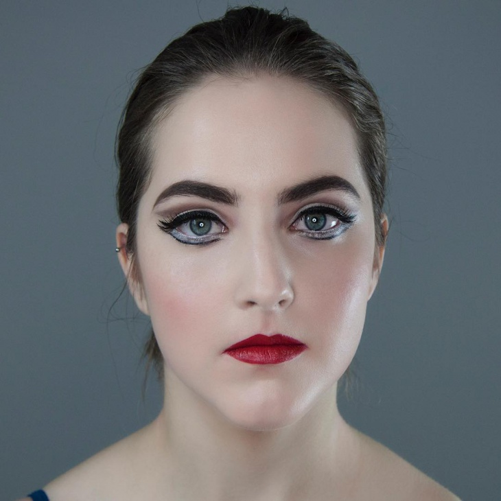 Stage Dance Makeup Idea