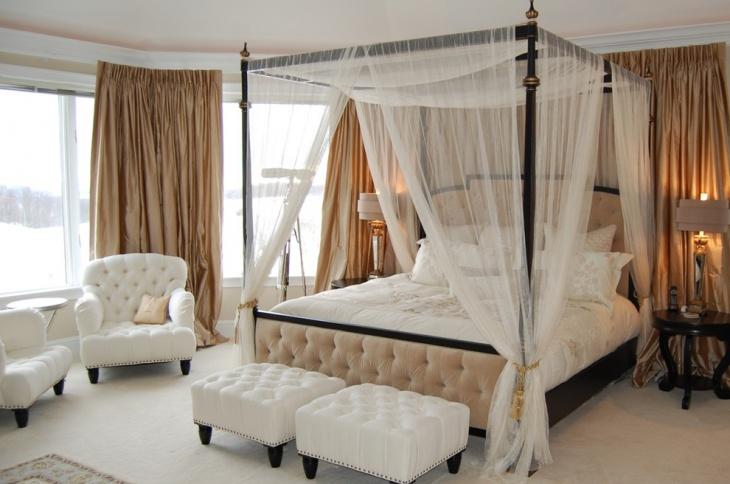 Beach House Canopy Bedroom