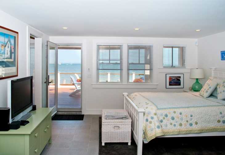 Private Beach House Bedroom
