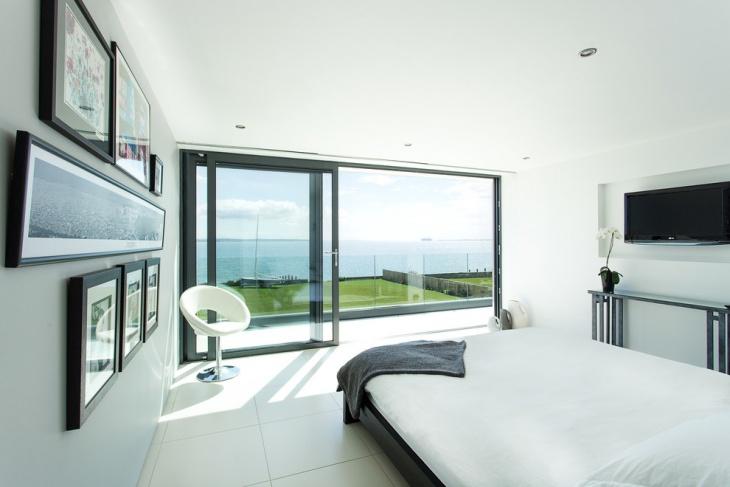 Trendy Beach House Bedroom Design