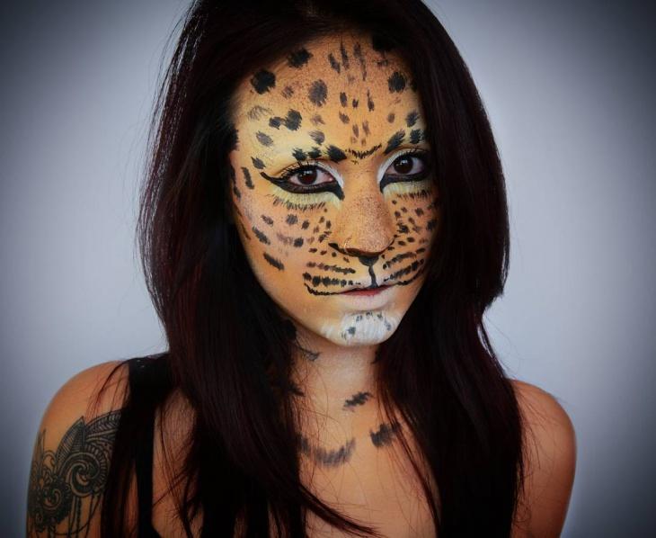 Animal Stage Makeup Design