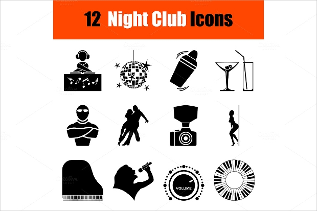 Night Club Icons