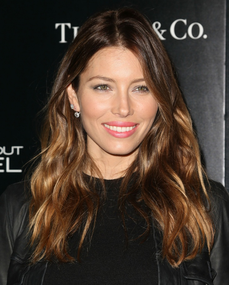 jessica biel gypsy layered hairstyle