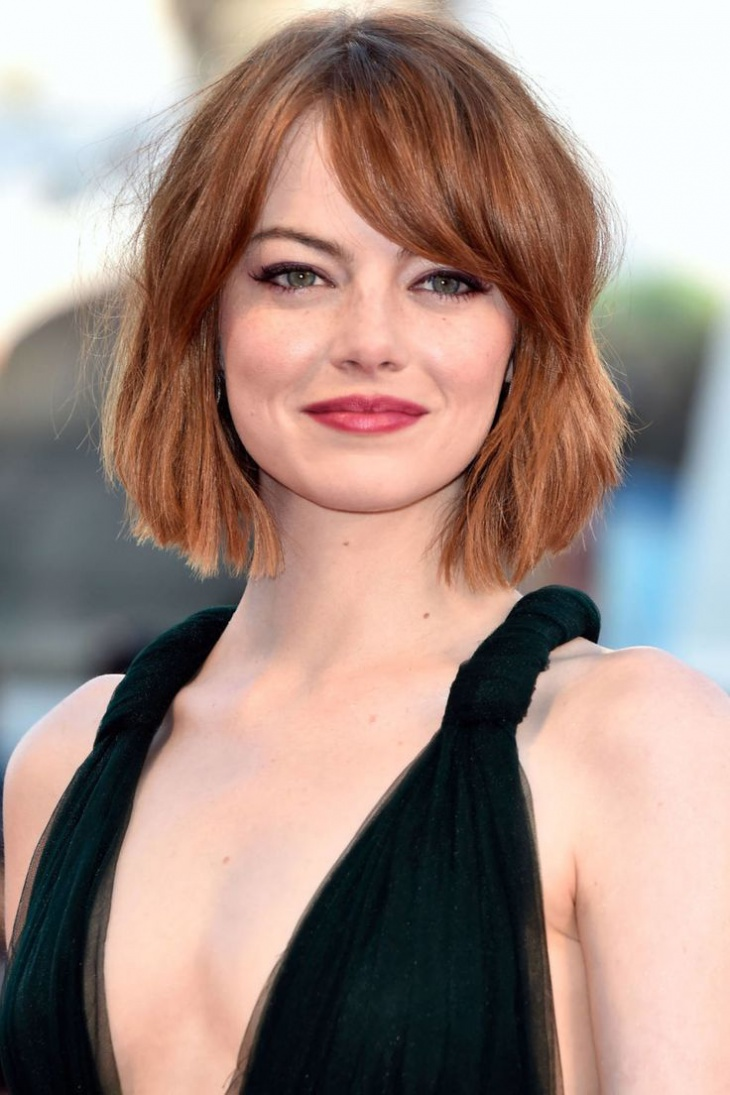 emma stone shaggy gypsy haircut