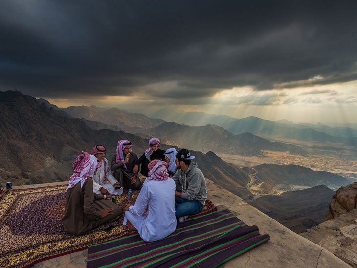 Friends in High Places, Photograph by Abdulrahman Almalki