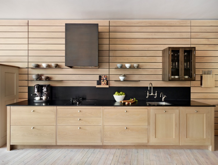 contemporary wooden kitchen 1