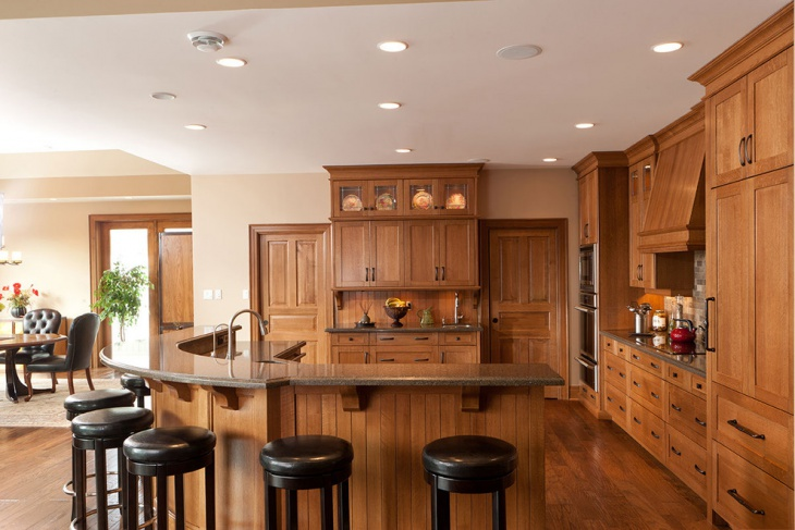 solid wood kitchen idea