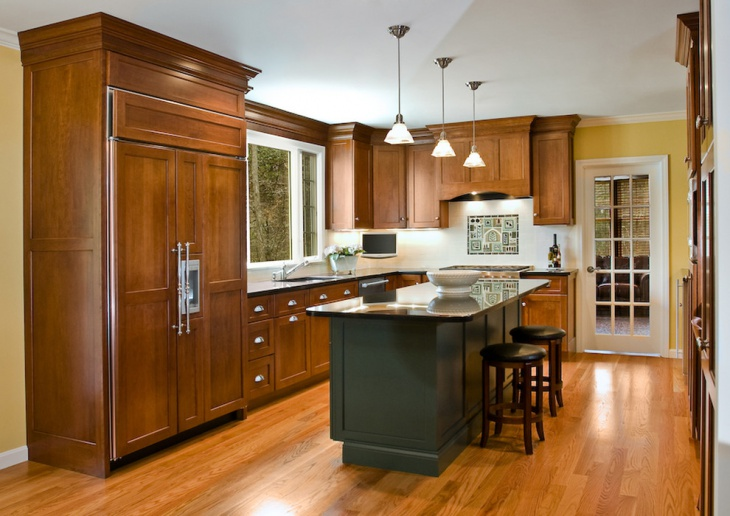 wood kitchen renovation idea