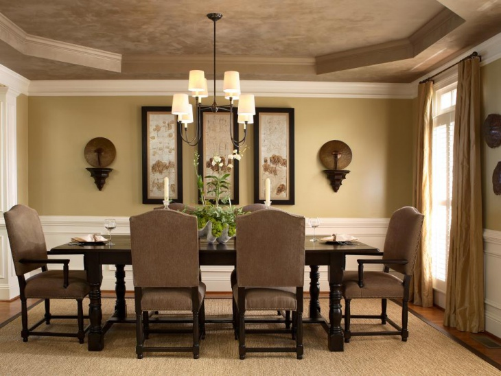 Black Dining Table Ceiling Light
