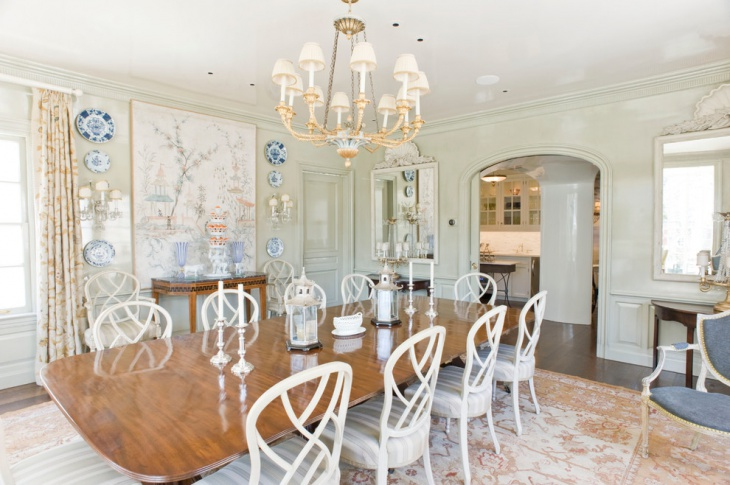 White Dining Room Pendant Lighting