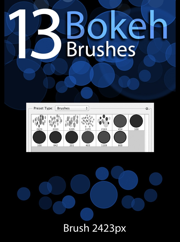 high quality bokeh brushes