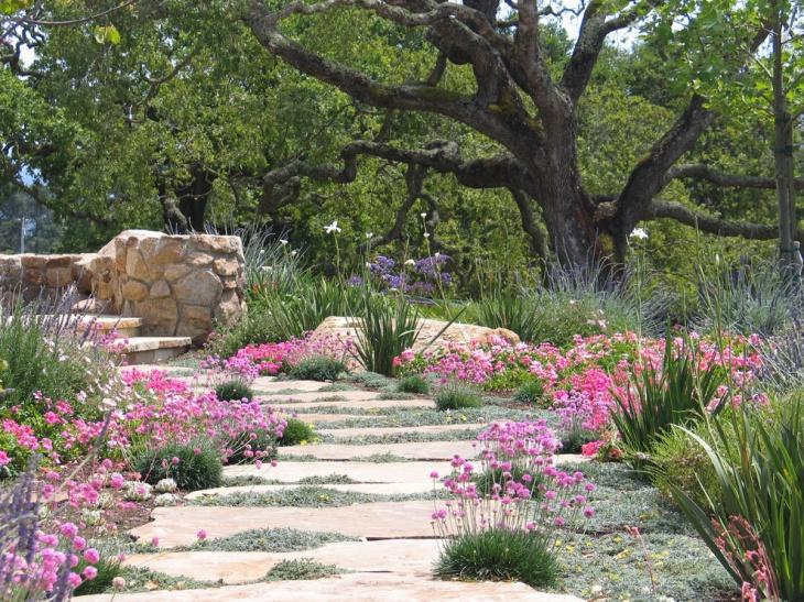 flowers and foliage garden design