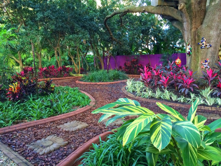 foliage focus garden design