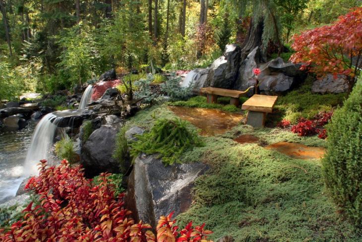 red foliage plants idea