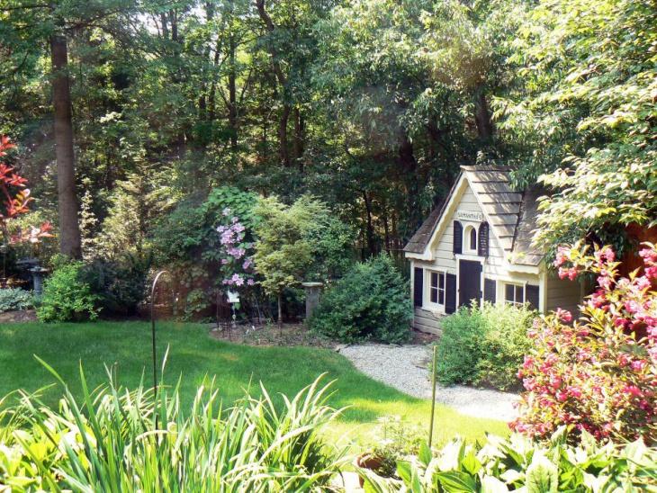 shade foliage garden design