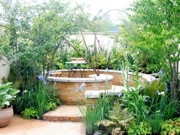 sprical foliage garden