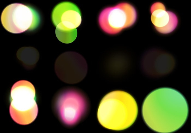 large bokeh brushes
