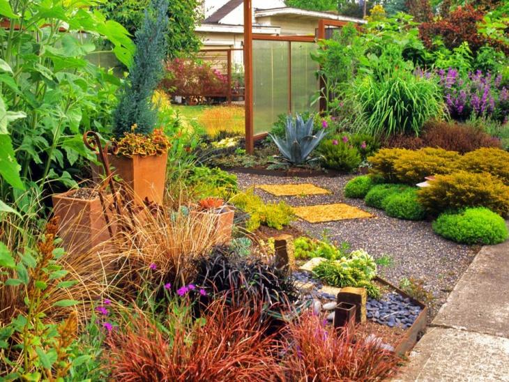 outdoor foliage garden design1