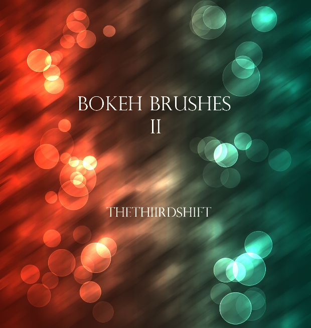 bokeh photoshop and gimp brushes