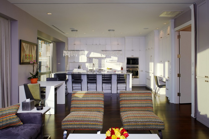 living room kitchen interior design
