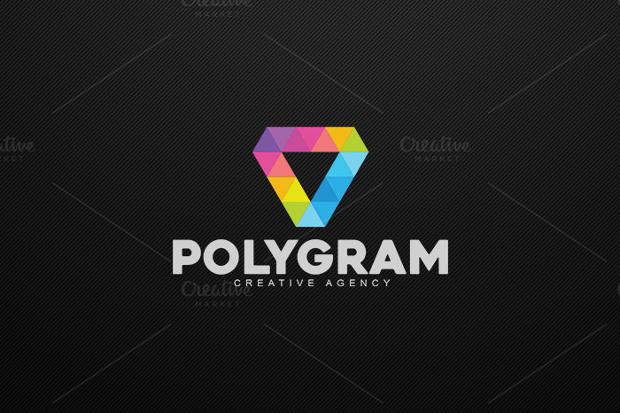 Premium Polygon Logo