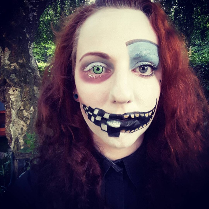 Alice In Wonderland Halloween Makeup