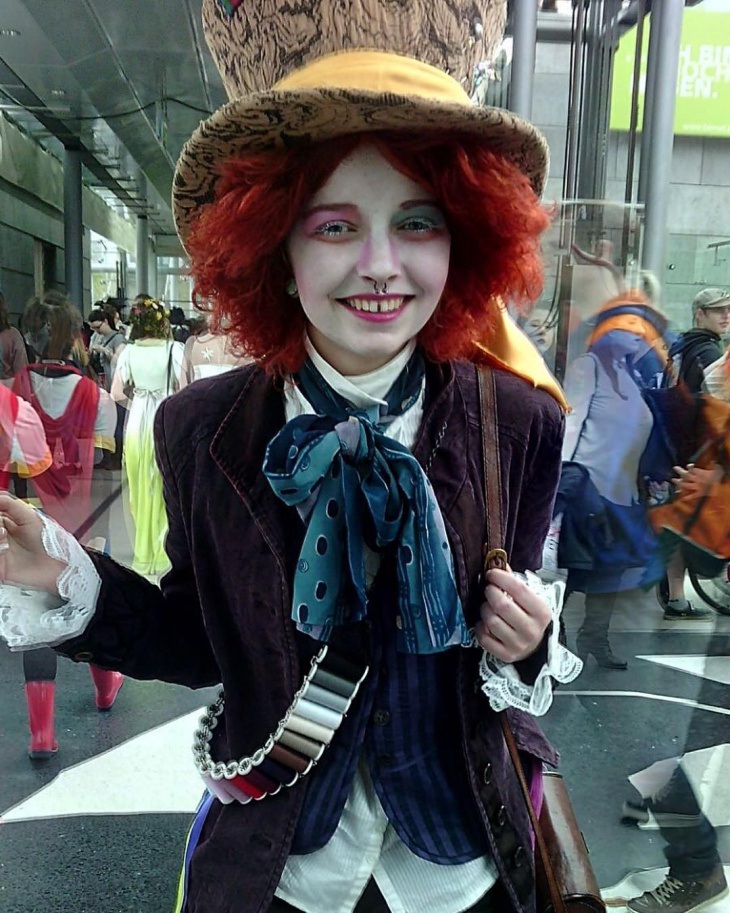 Tim Burton Makeup Idea. 21 Alice In Wonderland Makeup Designs Trends Ideas Design