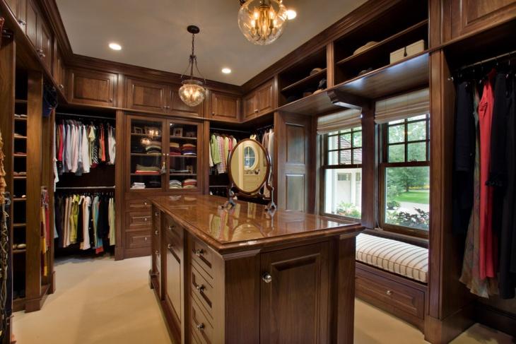 walk in closet cabinets idea