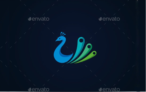 Royal Peacock Logo Design