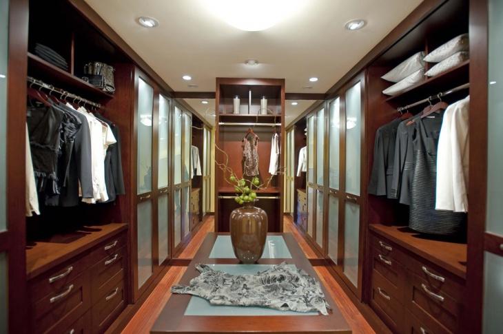 walk in closet door design