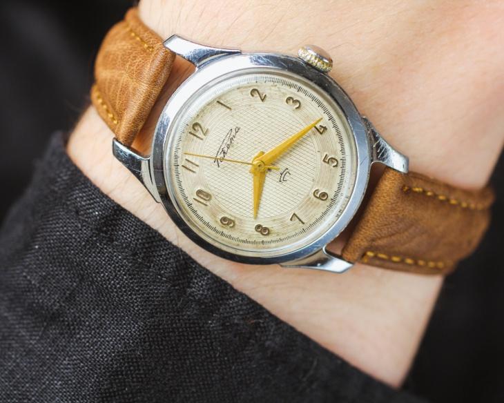 off white minimal watch idea