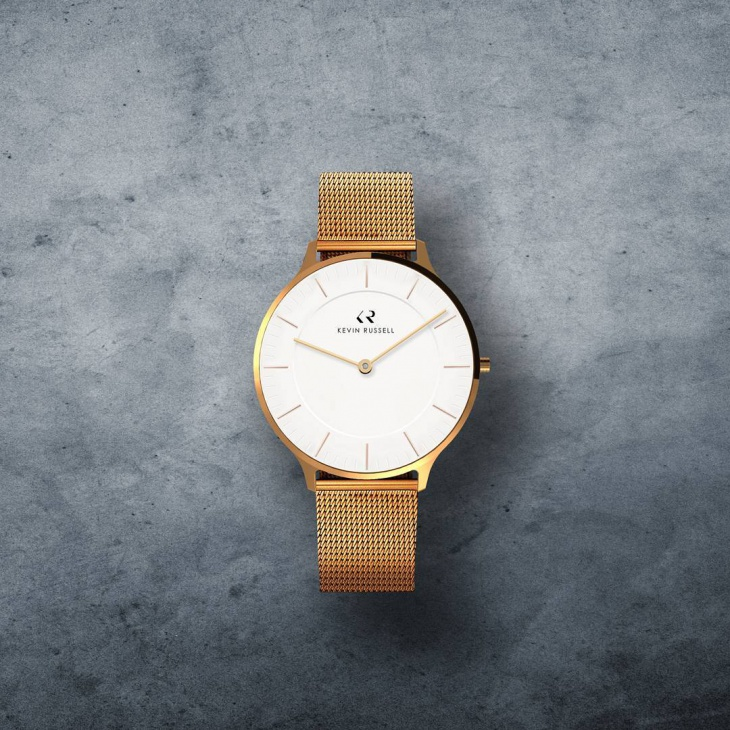 kevin russell minimal watch design