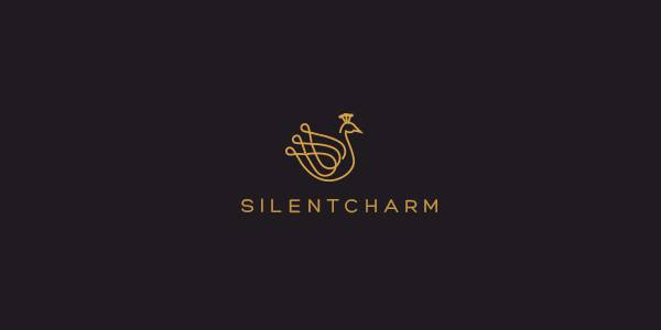 peacock silent charm logo