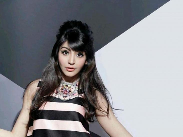 Anushka Sharma Side Puff Hairstyle Design