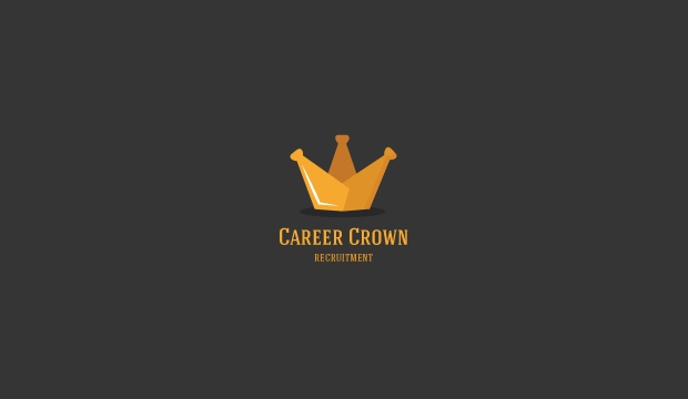 career crown logo template