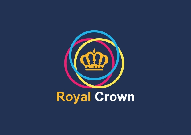 blue royal crown logo