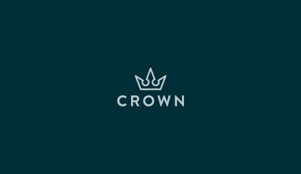inspirational crown logo design