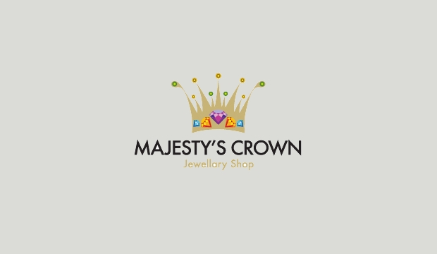 majesty crown logo idea