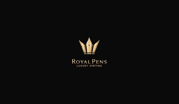 Royal Pens Logo Design