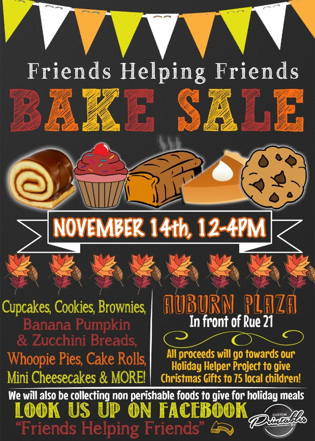 25 bake sale flyer templates printable psd ai vector eps format