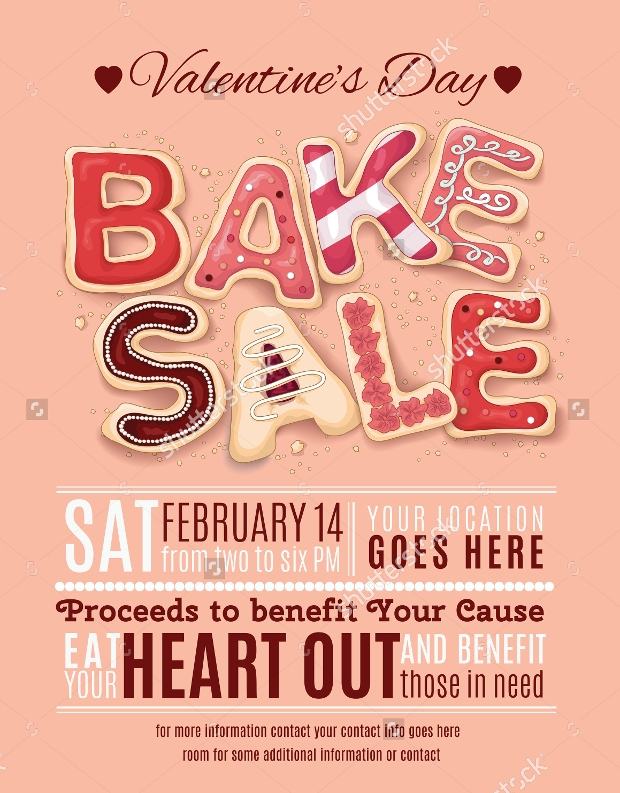 High Quality Bake Sale Flyer