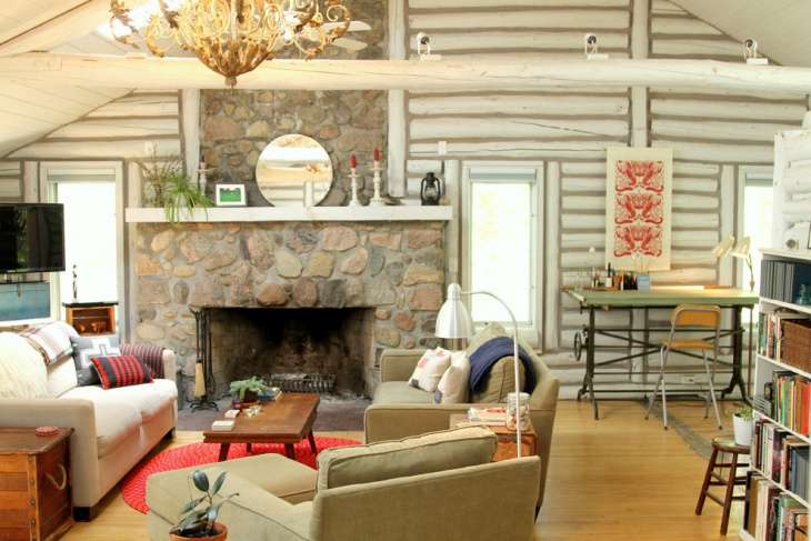 Small Cabin Living Furniture