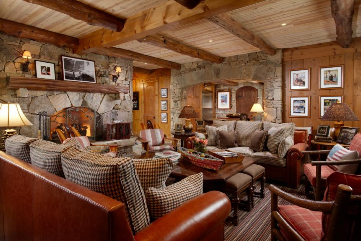 Log Cabin Decor Idea