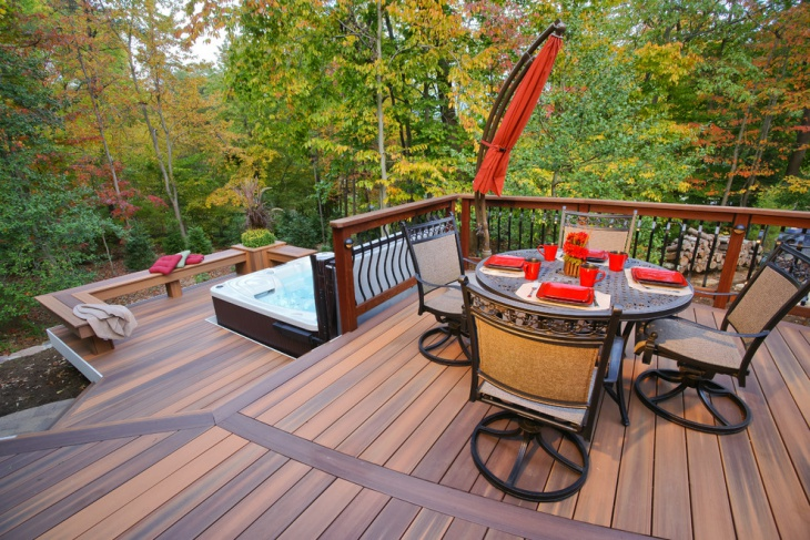 open view floating deck idea