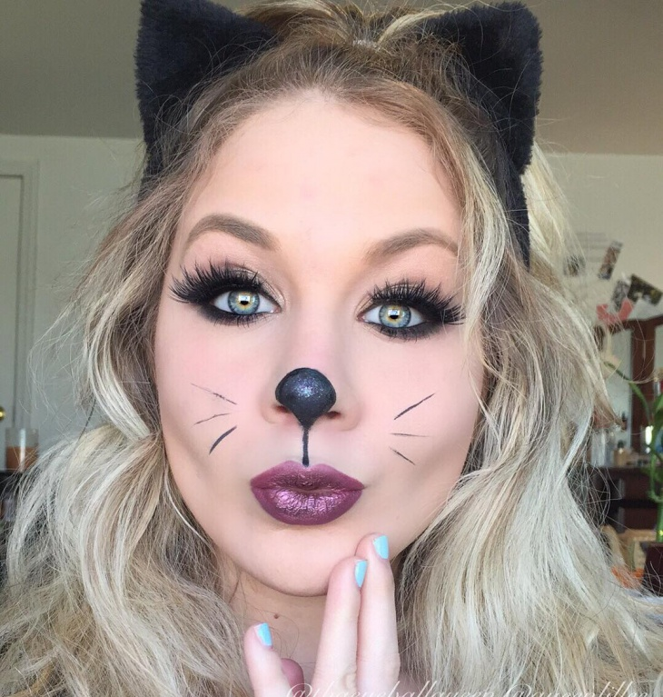 Stunning Kitty Makeup For Halloween Images - harrop.us - harrop.us