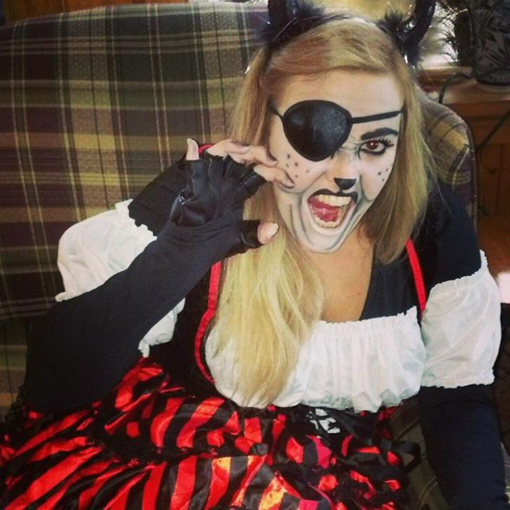 cat halloween costume idea